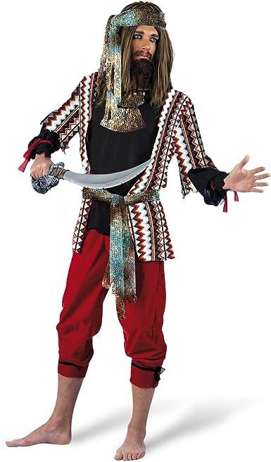 Limit Sport - Disfraz de pirata para hombre, 3 piezas ...
