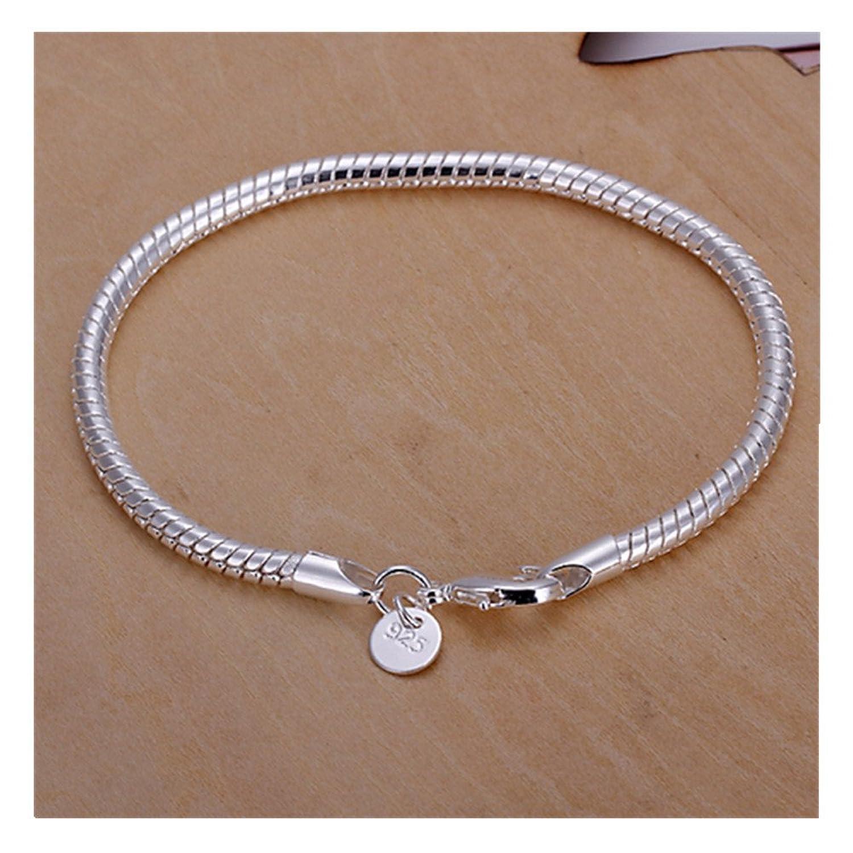 NYKKOLA Beautiful Fashion Jewelry Classic 925 Sterling Silver ...