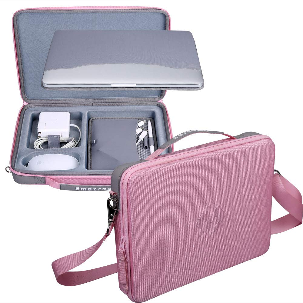 Smatree Carry Case for 12-13.3 inch MacBook Laptop (Pink)