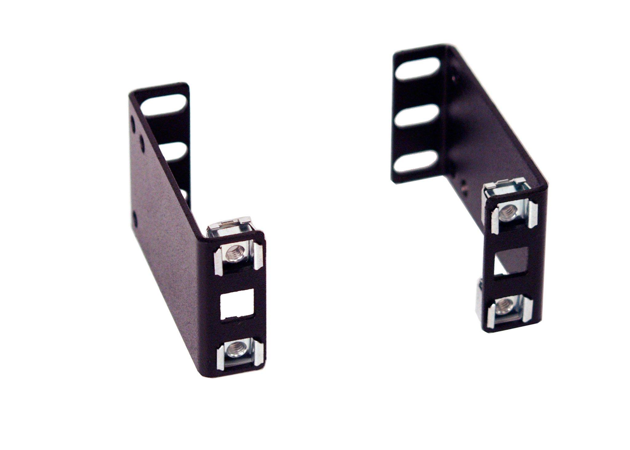 IAB103V10-1U 1U 3 inch Rack Extender for Industrial Standard 19 inch 2 Post Relay Rack or 4 Post Rack Cabinet.