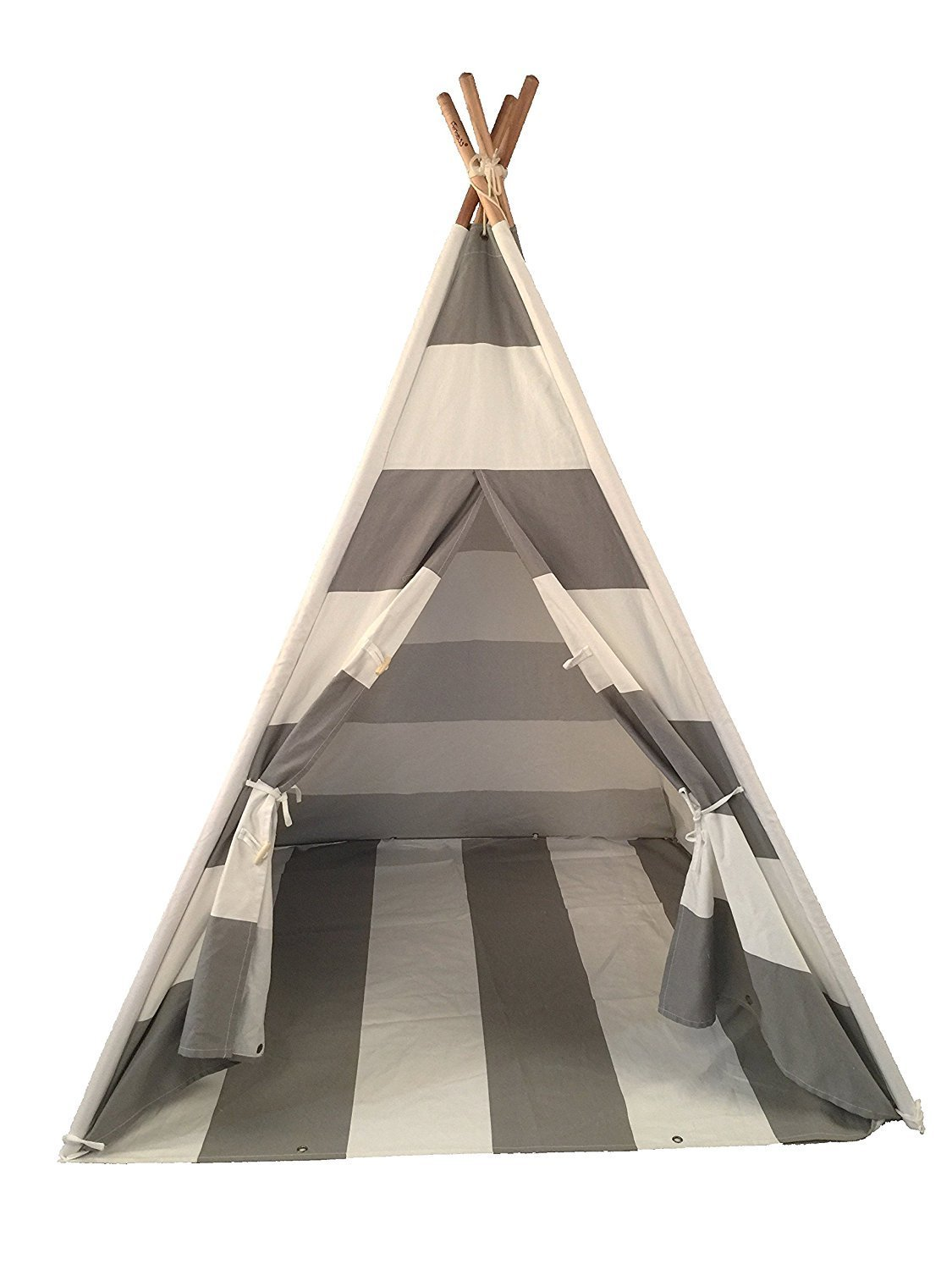 Funkatron Indoor Indian Playhouse Toy Teepee Play Tent for Kids with Carry Case, Blue BlueTeepee