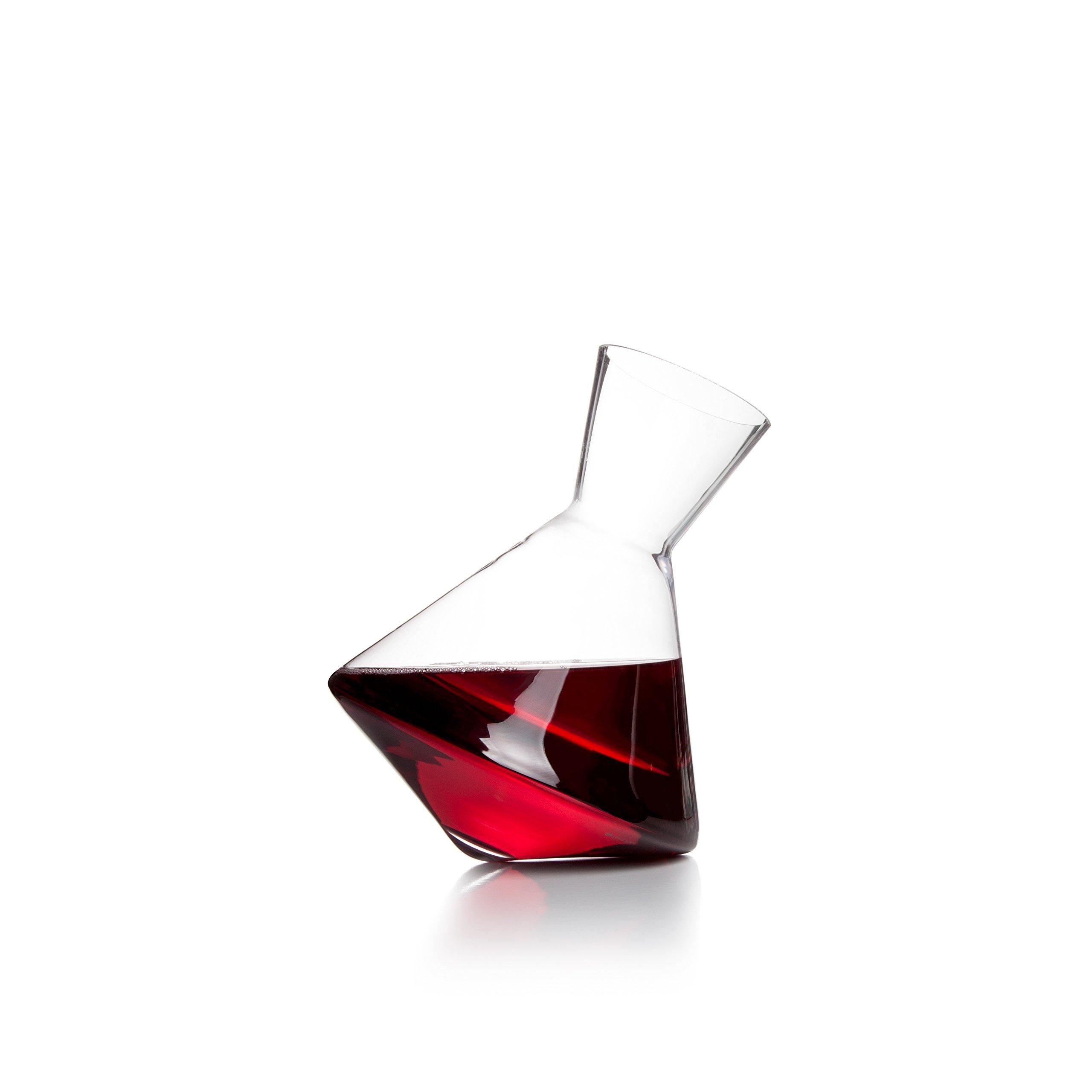 Sempli Vaso-Vino Clear Aerating Wine Decanter in Gift Box