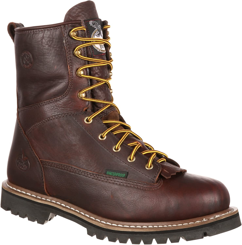 Irish Setter Men/'s Soft Toe Mesabi Logger Work Boot 83829