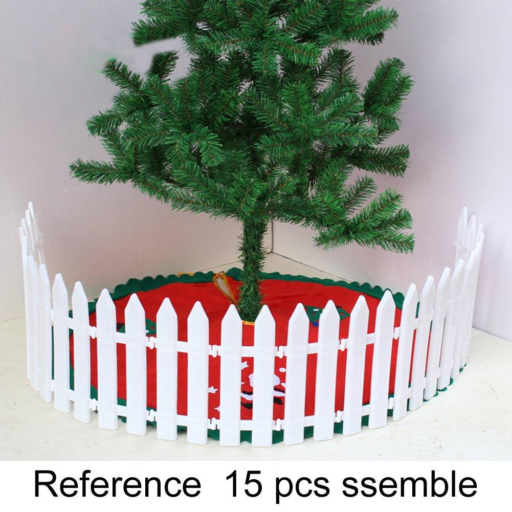 Amazon.com : Christmas Trees Decorating Fences MICKYU 25Pcs/set ...
