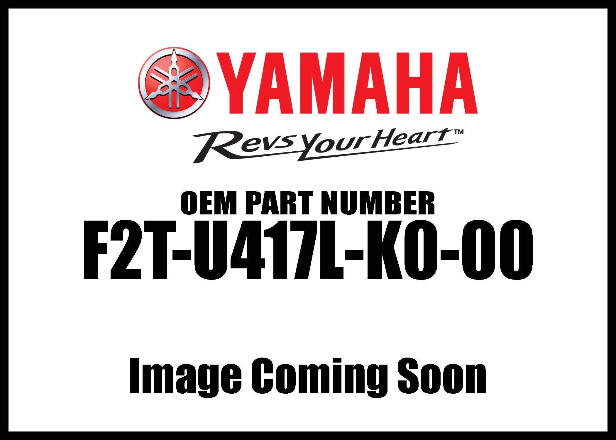 Yamaha New OEM F2T-U417L-K0-00 Graphic B F2TU417LK000