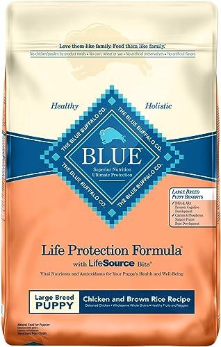Blue Buffalo Life Protection Formula Large Breed Puppy Dog Food Natural Dry Dog Food