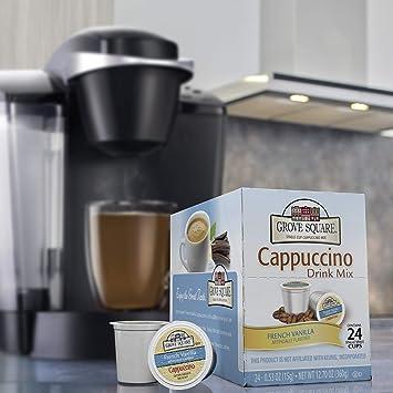 Grove Square Cappuccino French Vanilla 24 Count Single Serve Cups