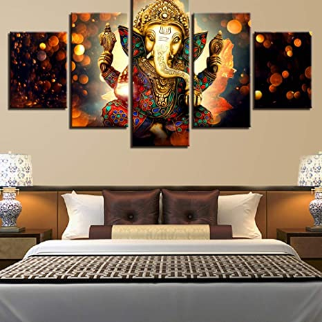 ISAAC ENGLAND Home Decor Art Poster Prints Quadro 5 Pannelli Lord ...