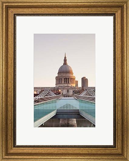Amazon.com: St. Paul\'s Cathedral, Millennium Bridge, London, England ...