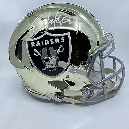 6b16797fe82 Amazon.com  Bo Jackson Signed Oakland Raiders Full Size Authentic ...
