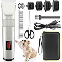 Avaspot Professional Cordless Electric Pet Clippers for Thin Coats Small Dog