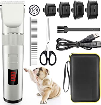 Avaspot Professional Cordless Electric Pet Clippers