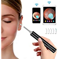 Topchu Wireless Ear Wax Removal Endoscope With 6 LED Lights