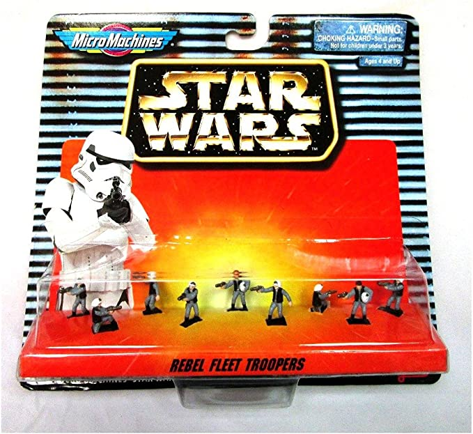 Star Wars Micro Machines Action Fleet Hoth REBEL TROOPER Echo Base SOLDIER G