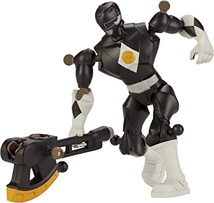 Mixx N Morph Mighty Morphin Black Ranger Action Figure Bandai America Incorporated 43092 Power Rangers