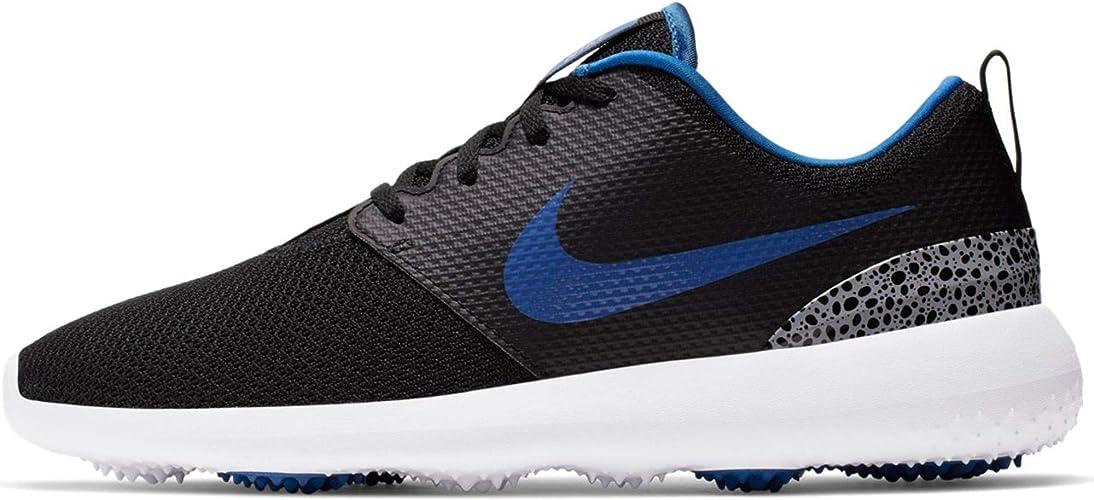 Nike Golf Roshe G Black/Game Royal/White/Cement Grey 9.5