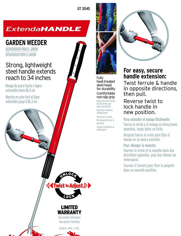 Corona Clipper GT3040 Extendable Handle Weeder