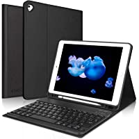 Teclado iPad 10.2 8ª Gen 2020/7ª Gen 2019,Funda con Teclado (Diseño Español Incluye Ñ) Bluetooth Inalámbrico para iPad…