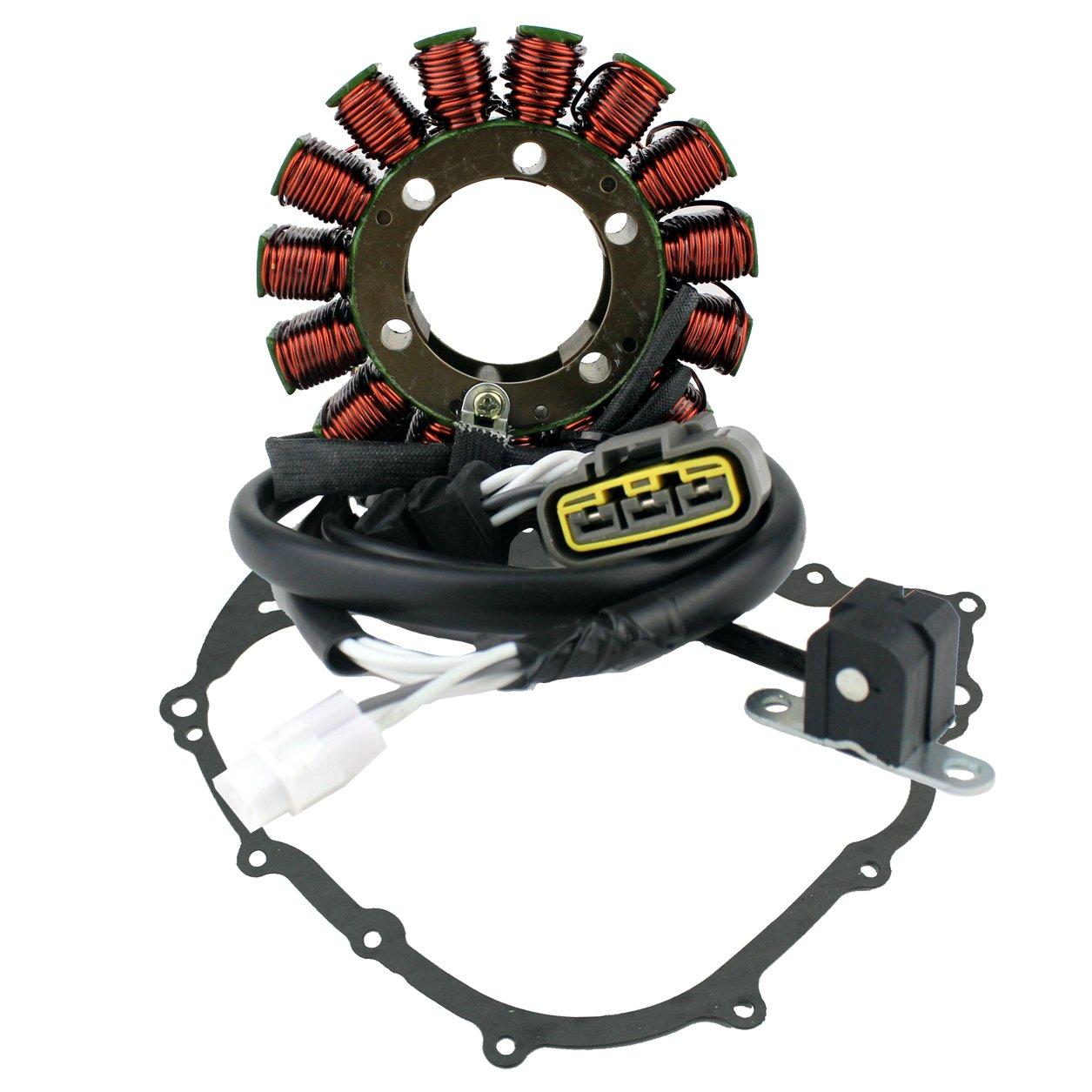 Generator Stator For Yamaha YFM 550 700 Grizzly 2007 2008 2009 2010 2011 2012 2013 2014 2015 OEM Repl.# 28P-81410-00-00 3B4-81410-00-00 28P-81410-01-00 RMSTATOR