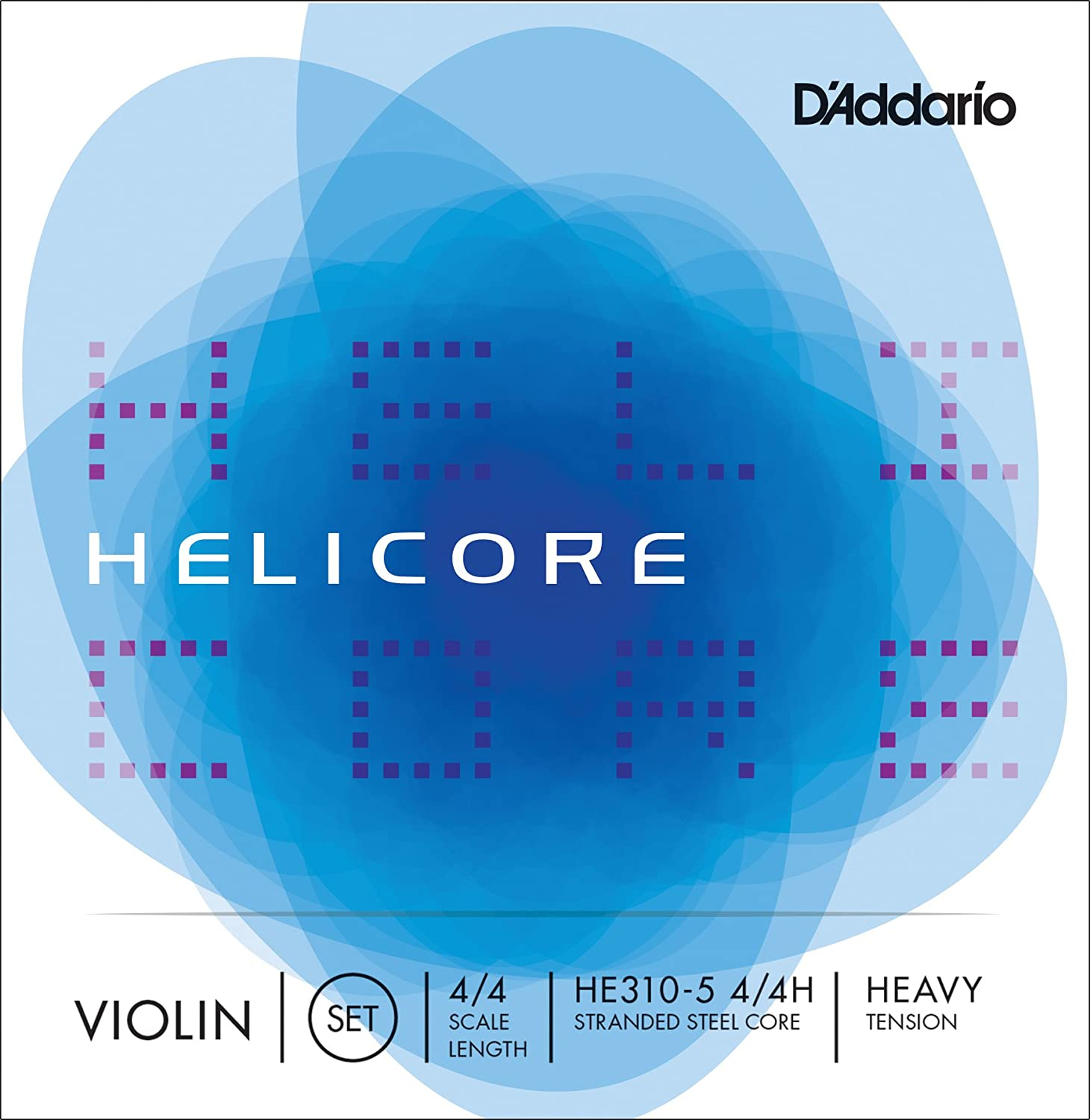 D'Addario Helicore Violin 5-String Set, 4/4 Scale, Heavy Tension D' Addario HE310-5 4/4H