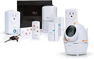 ALC Connect Plus Security System with Full HD Pan Tilt Camera White Reg