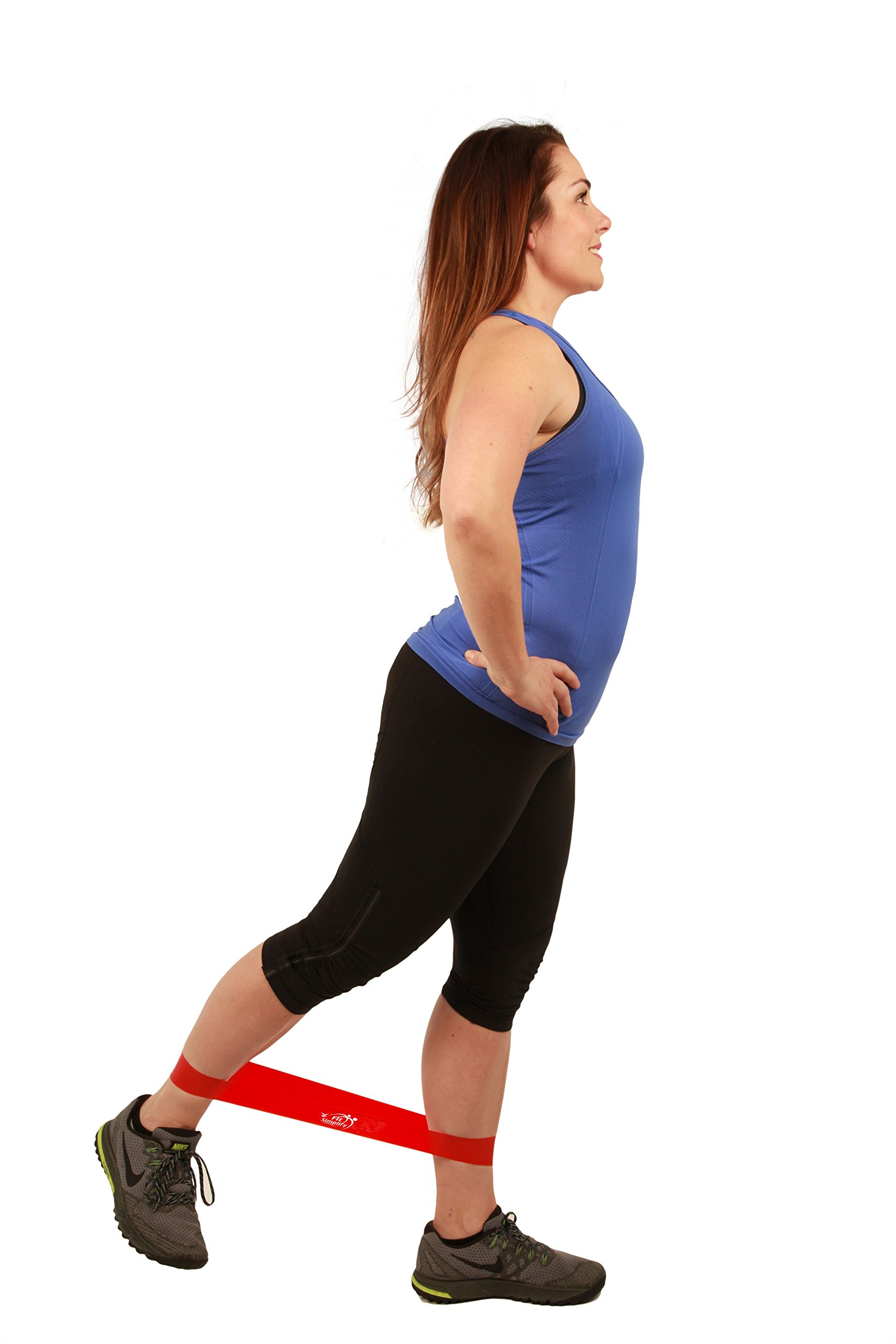 Galleon Fit Simplify Resistance Loop Exercise Bands With