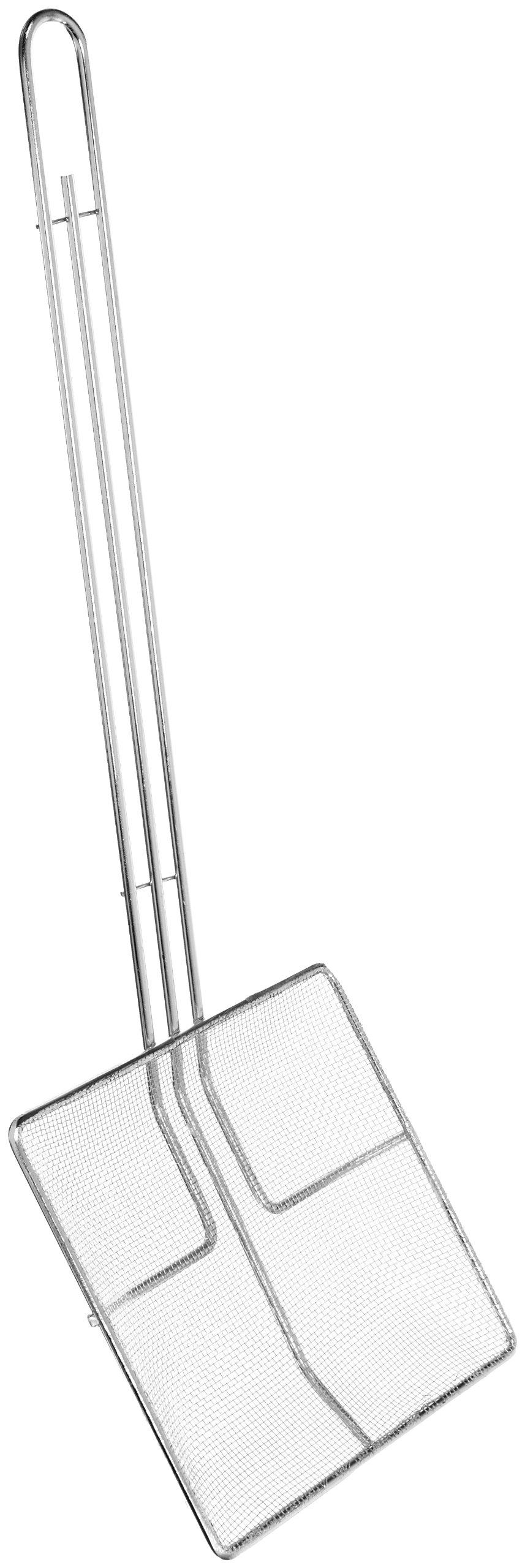 Crestware SKM7SM 6-3/4'' Square Screen Mesh Skimmer