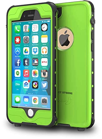 best website 6fe0c c074f ImpactStrong iPhone 6 Waterproof Case [Fingerprint ID Compatible] Slim Full  Body Protection Cover for Apple iPhone 6 / 6s (4.7