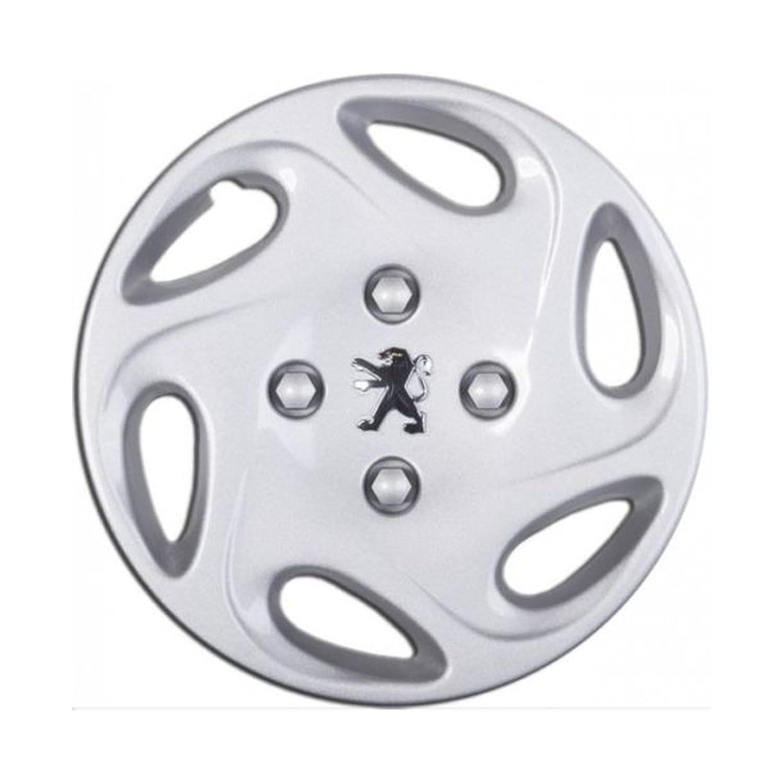 Embellecedores tapacubos Copa de rueda 1 Cubierta para Peugeot 206 13 pulgadas de rueda de coche: Amazon.es: Coche y moto