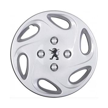 Embellecedores tapacubos Copa de rueda 1 Cubierta para Peugeot 206 13 pulgadas de rueda de coche