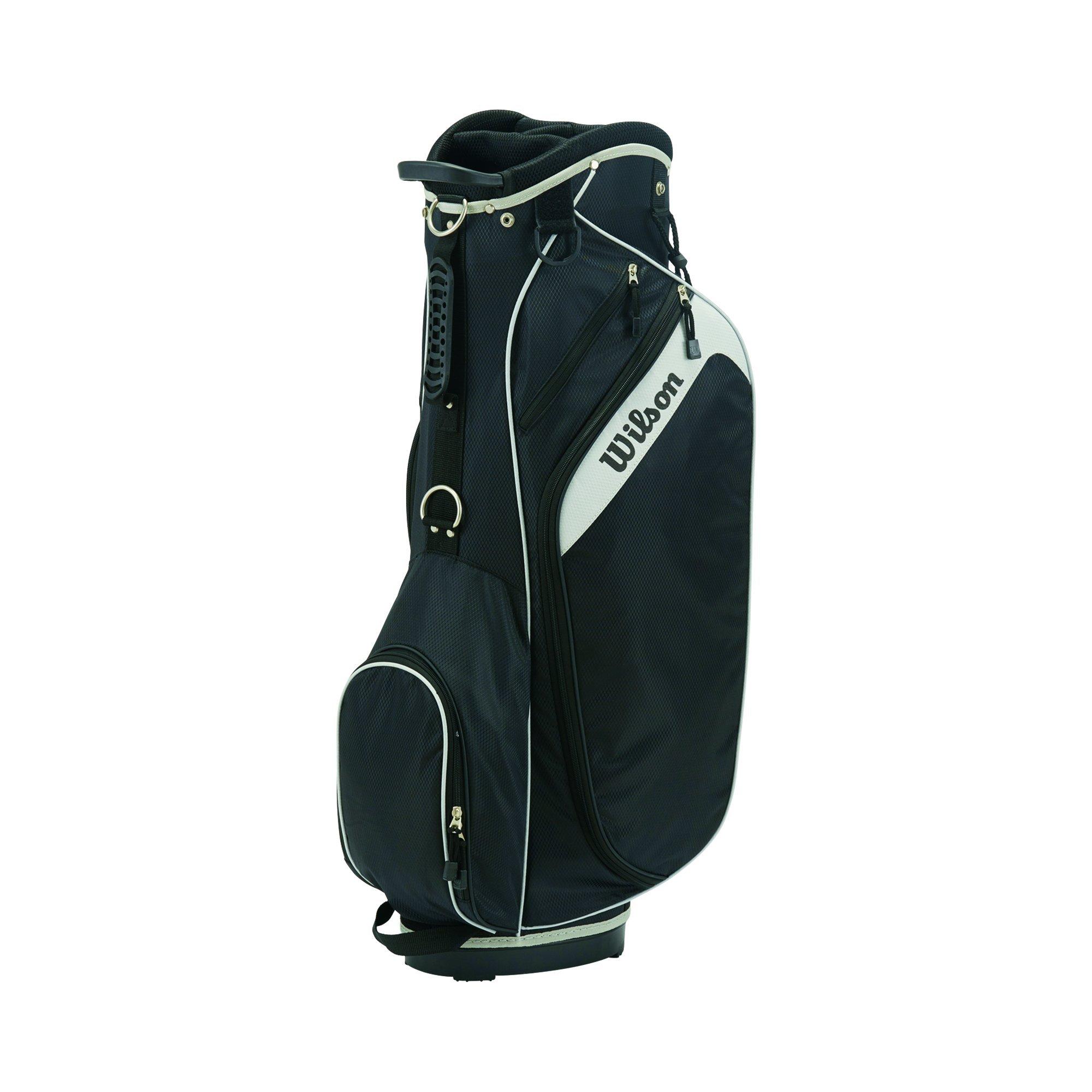 Wilson Golf Unisex Wilson Profile Bag Wilson Profile Golf Cart Bag, Black by Wilson Golf (Image #1)