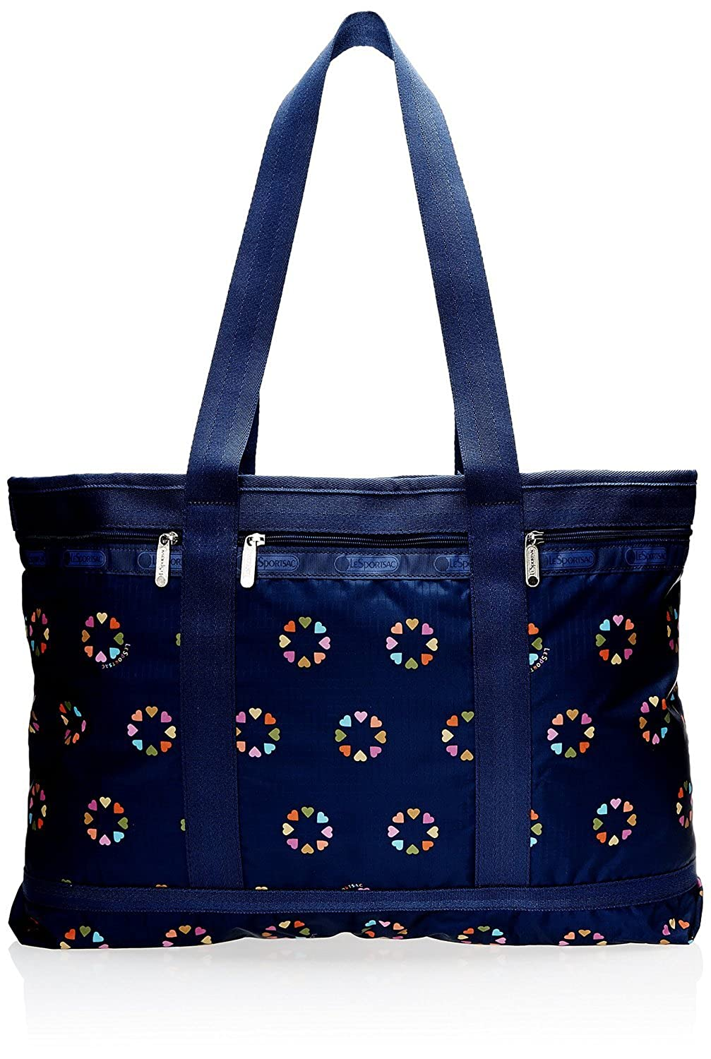 LeSportsac Travel Tote Handbag, Happy Hearts