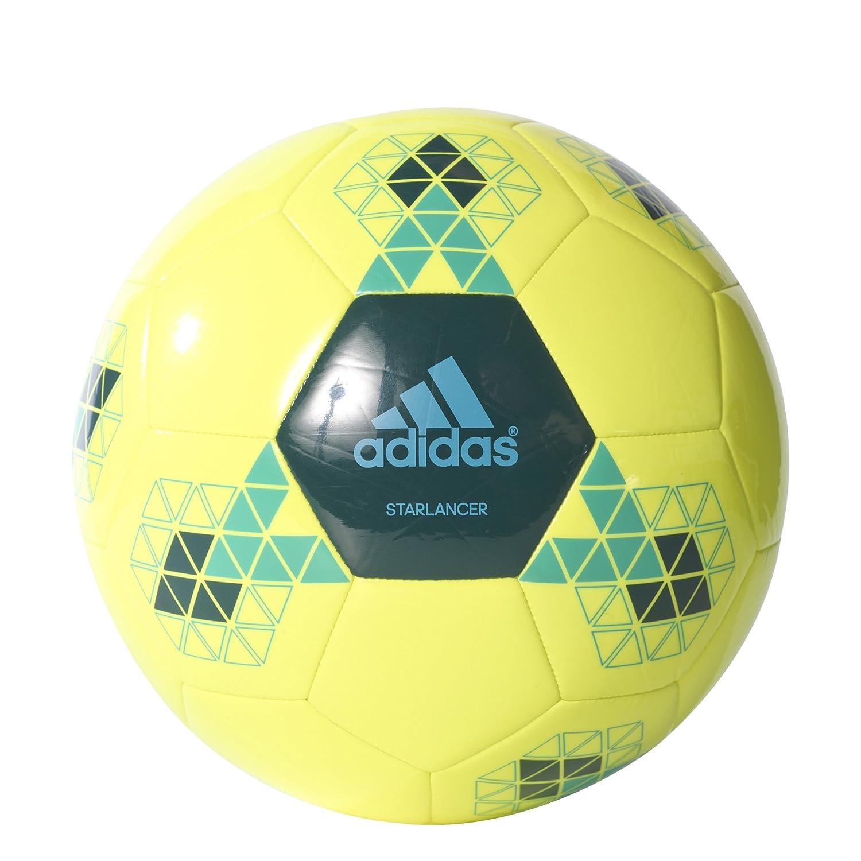 adidas Starlancer V Ballon de Football, Homme, Homme, Starlancer V, Multicolore - blanc (blanco (azalre)), 5
