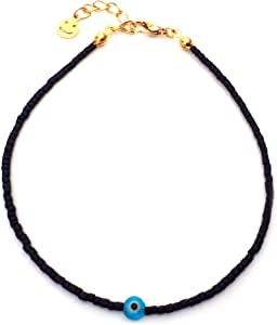 Alwan Medium Size Anklet with an Eye for Women - EE3920E