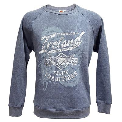 Denim Republic of Ireland Celtic Traditions Crewneck Sweatshirt at Men's Clothing store