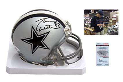 Image Unavailable. Image not available for. Color  Jason Witten Autographed  Signed Dallas Cowboys Mini Helmet ... 57557ecd6