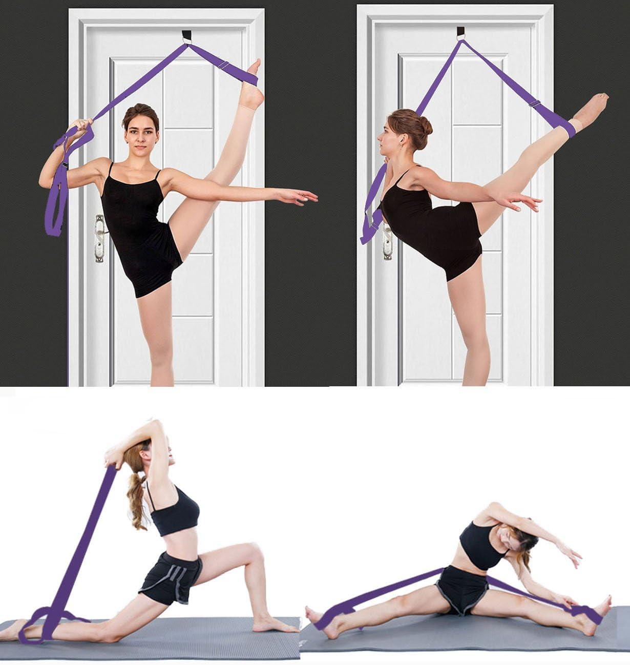 Flexibler Trainer Bein perfekten heim Tragbare ger/äte zum tanzen gymnastische /übung Taekwondo /& MMA Manco Luella Bein trage Band an der t/ür Ballett Yoga Pilates flexibilit/ät zu verbessern;