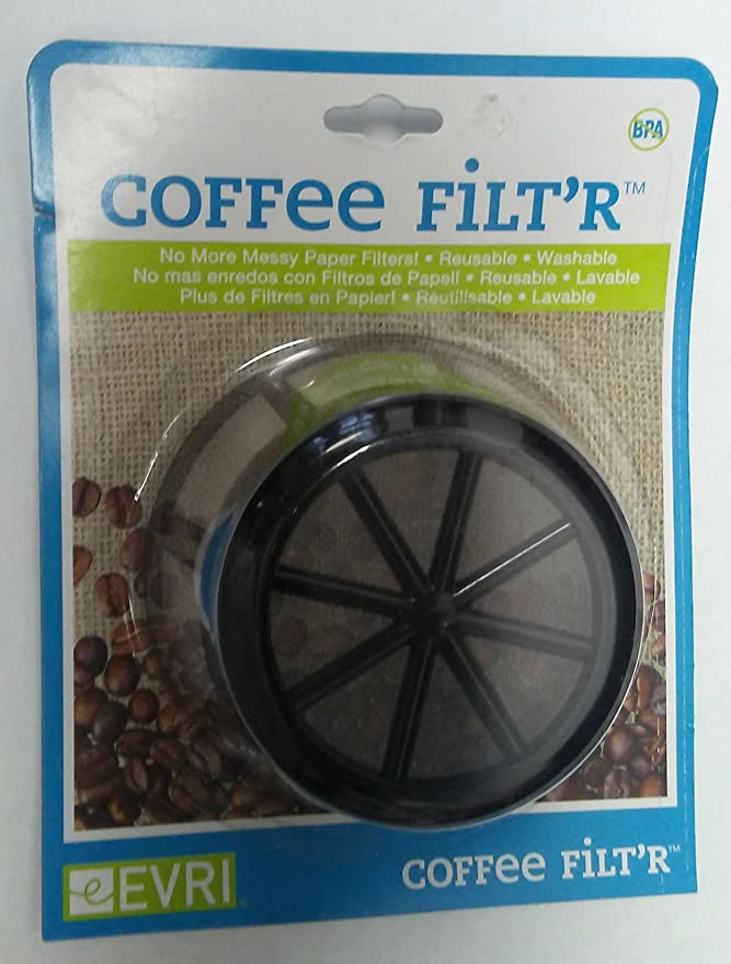 Amazon.com: Evri Reusuable Coffee FiltR: Home & Kitchen