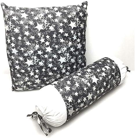Cojín en forma de estrella Juego de 2 Star Cushions: Amazon ...