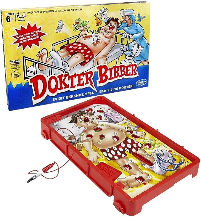 Hasbro- Operation Game Juego de Dr. Bibber: Refresh, Multicolor (B2176568): Amazon.es: Juguetes y juegos