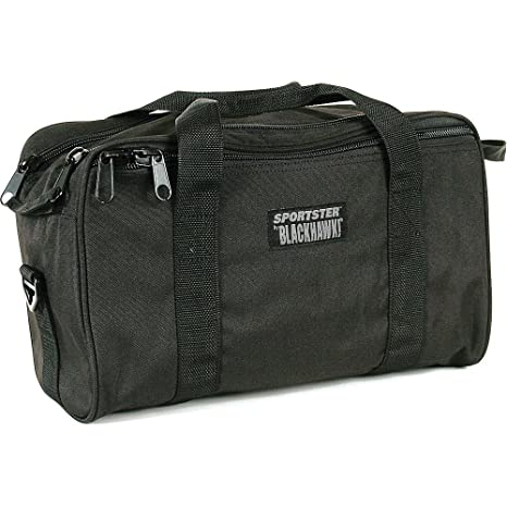 BlackHawk 74RB02BK Black Sportster Pistol Shooting Range Hunting Tactical Bag