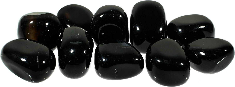 Piedra de ónix negro CrystalAge (20 – 25 mm)