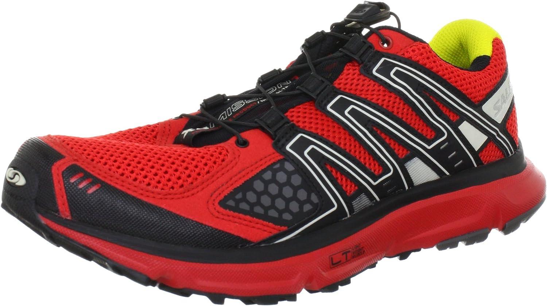 Salomon XR Mission - Zapatillas Deportivas de Malla Hombre, Color Rojo, Talla 41 1/3: Amazon.es: Zapatos y complementos