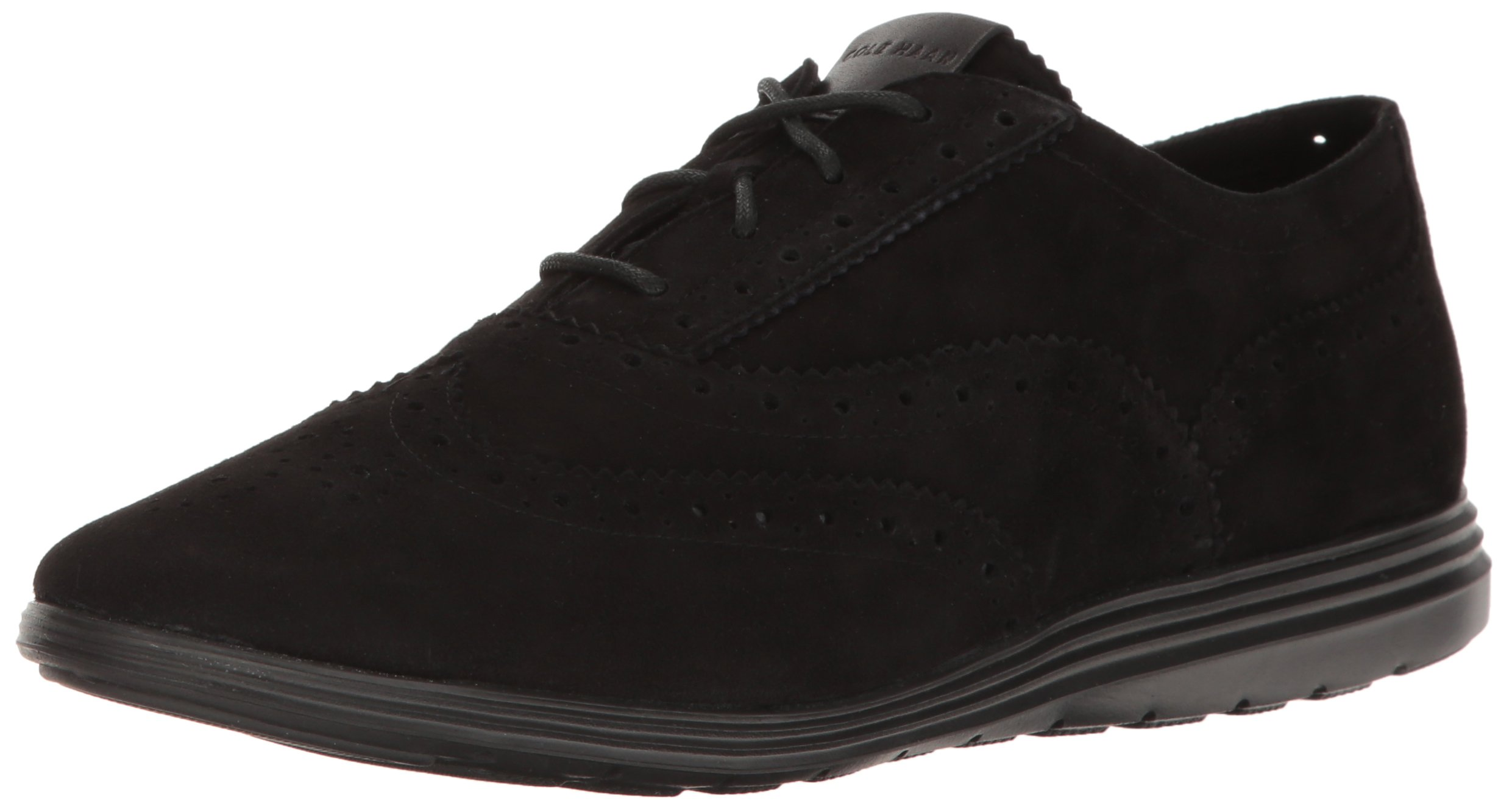Cole Haan Women's Grand Tour Oxford, Black/Black, 7 B US
