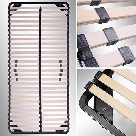i-flair Somier/Listones 80x200 cm, marcos de cama - para todos los