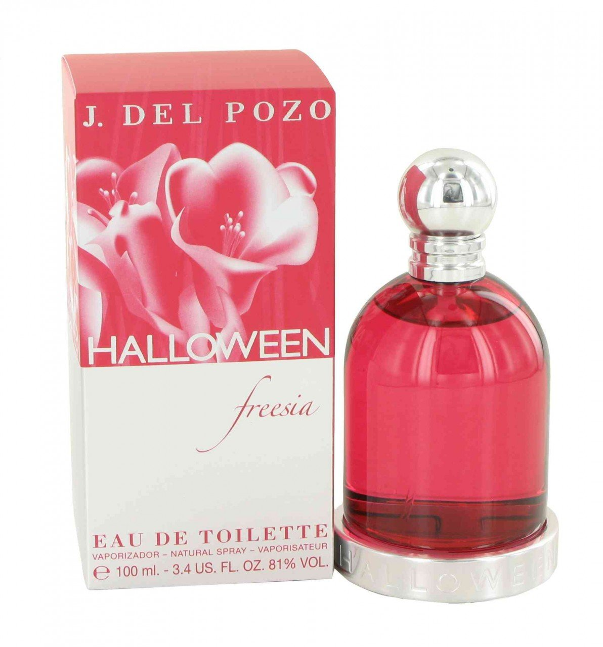 amazoncom halloween freesia eau de toilette spray for women 34 ounce perfume halloween j del pozo beauty - Halloween Purfume