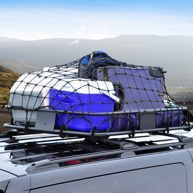 Sailnovo Box da Tetto Auto Furgoni Suvs Automobili Borsa Portapacchi Tetto 16,7 Piedi Cubici Universale Morbido Trasportatori di Carichi per Auto Viaggi