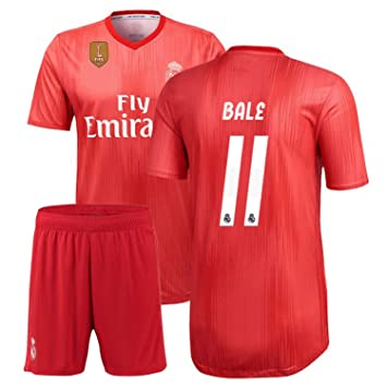 795900d8d Buy 2018-19 Bale 11   Printed Real Madrid Away Half Sleeves Jersey ...