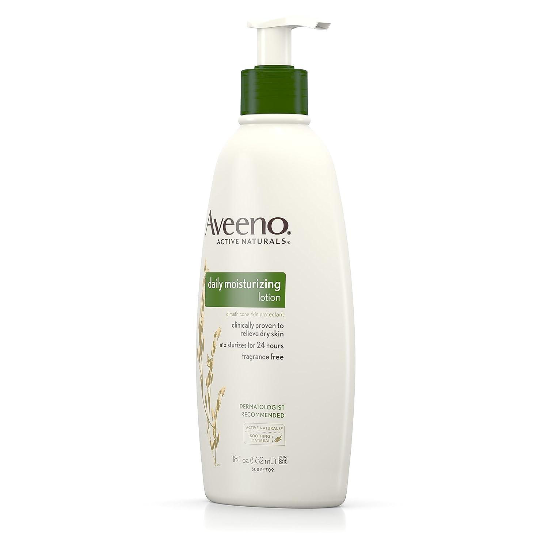 Aveeno Active Naturals Daily Moisturizing Lotion 530 ml: Amazon.es: Belleza