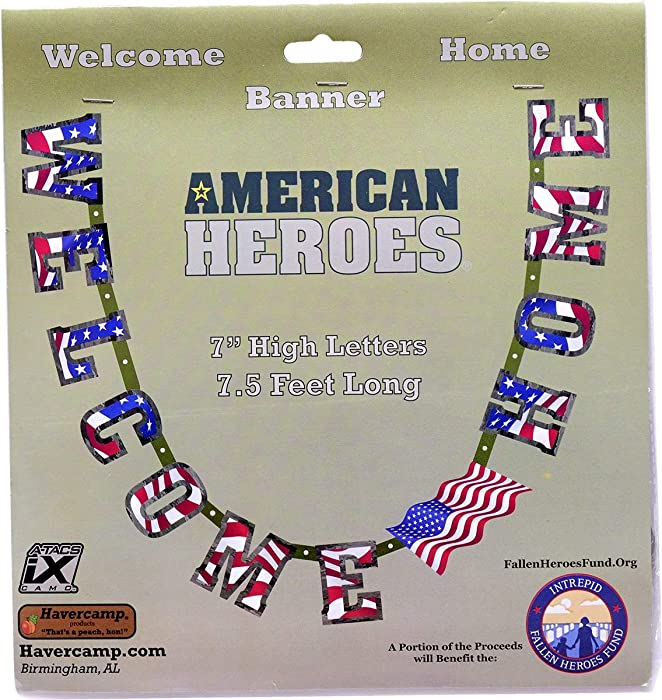 Top 9 Personalized Welcome Home Banner Military Army Reserves